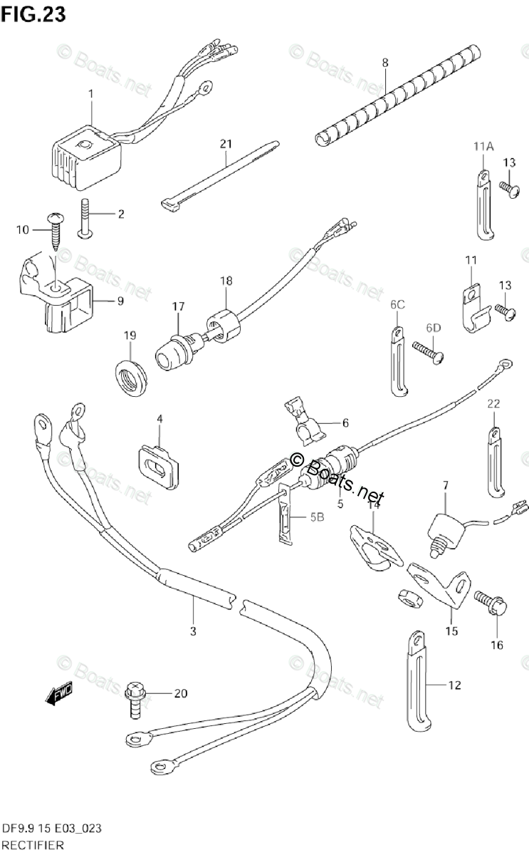 Suzuki Outboard Parts by Year 1999 OEM Parts Diagram for