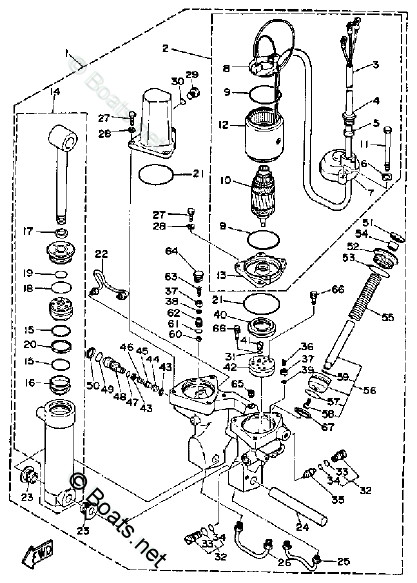 Yamaha Outboard Parts by Year 1989 OEM Parts Diagram for
