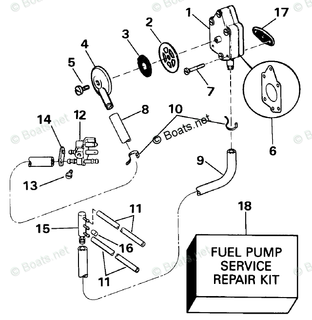 Evinrude Outboard Parts by Year 1990 OEM Parts Diagram for