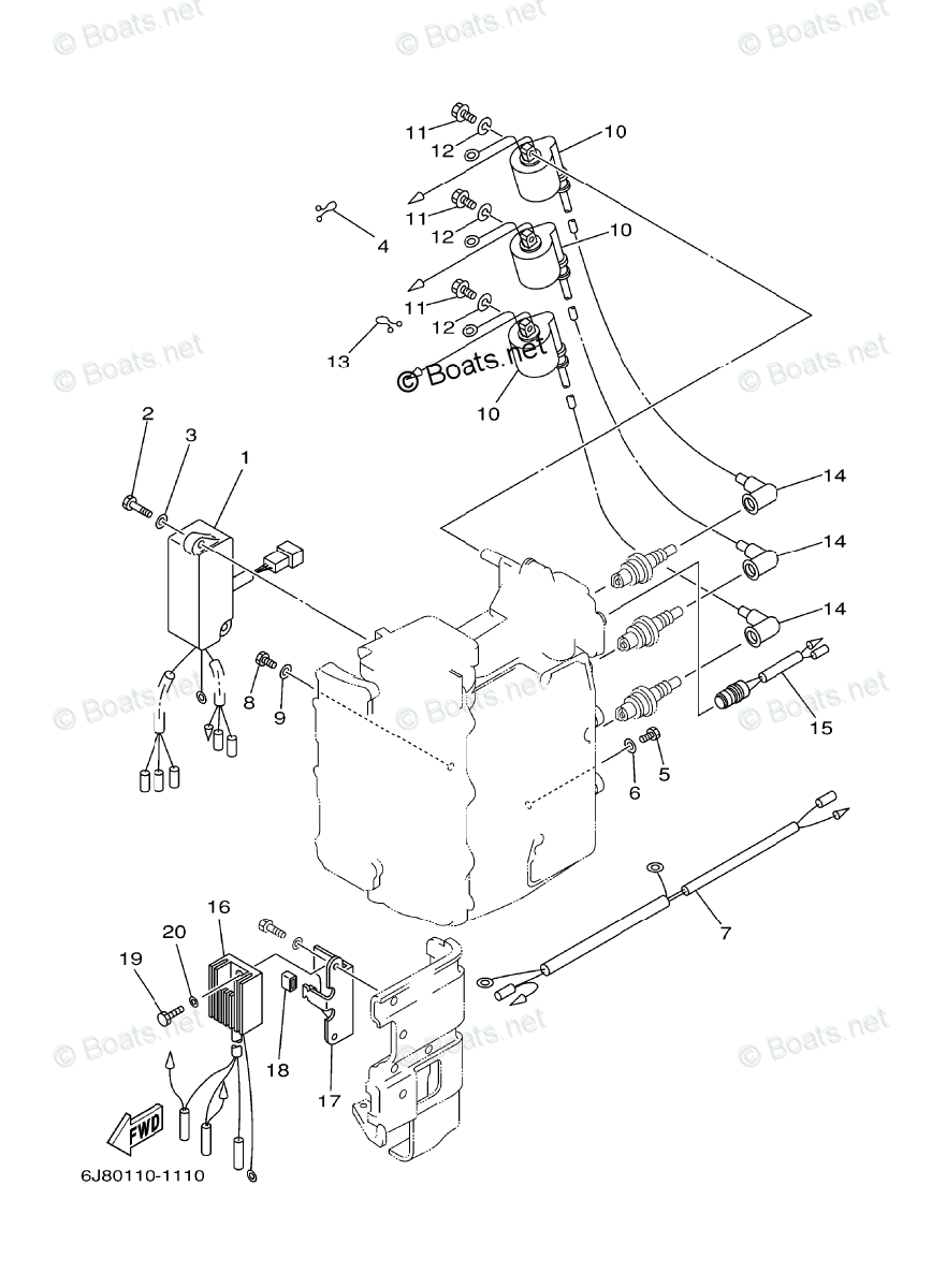 hight resolution of yamaha outboard parts by hp 30hp oem parts diagram for electrical 30 hp yamaha outboard wiring diagram