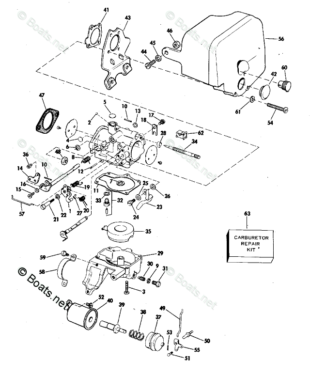 Johnson Outboard Parts by Year 1978 OEM Parts Diagram for