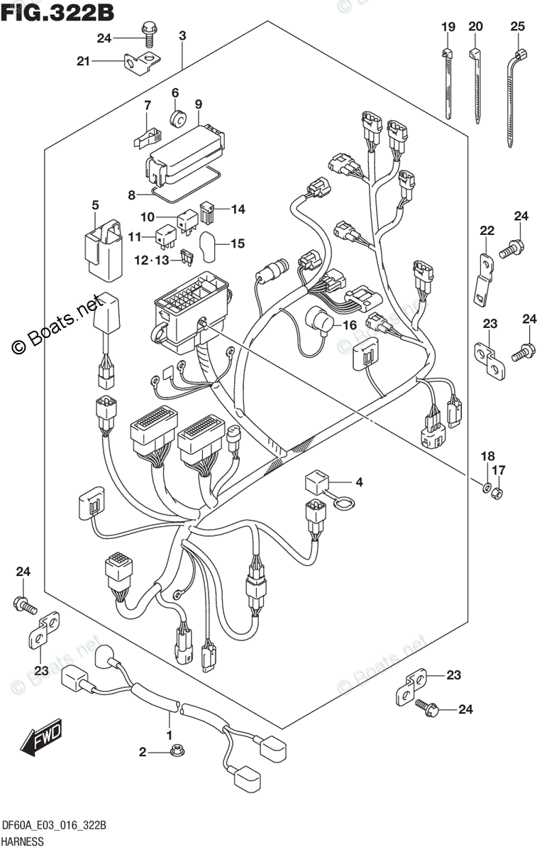 Suzuki Outboard Parts by Year 2016 OEM Parts Diagram for