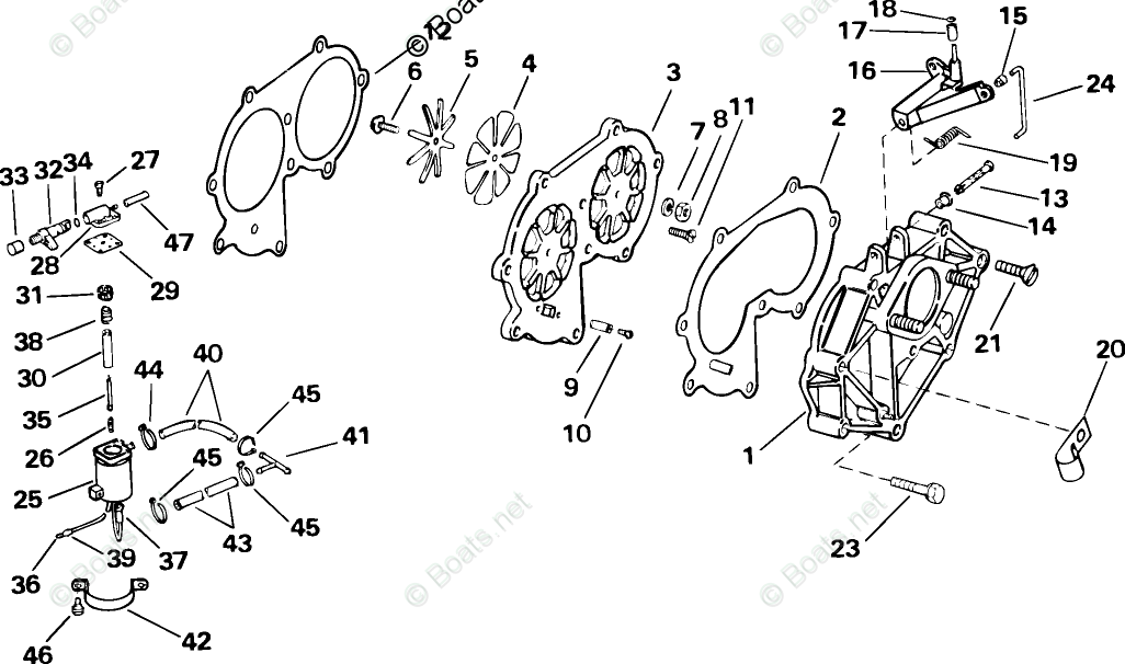 Johnson Outboard Parts by Year 2005 OEM Parts Diagram for