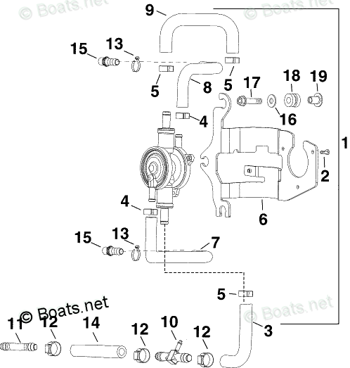 Evinrude Outboard Parts by Year 2005 OEM Parts Diagram for