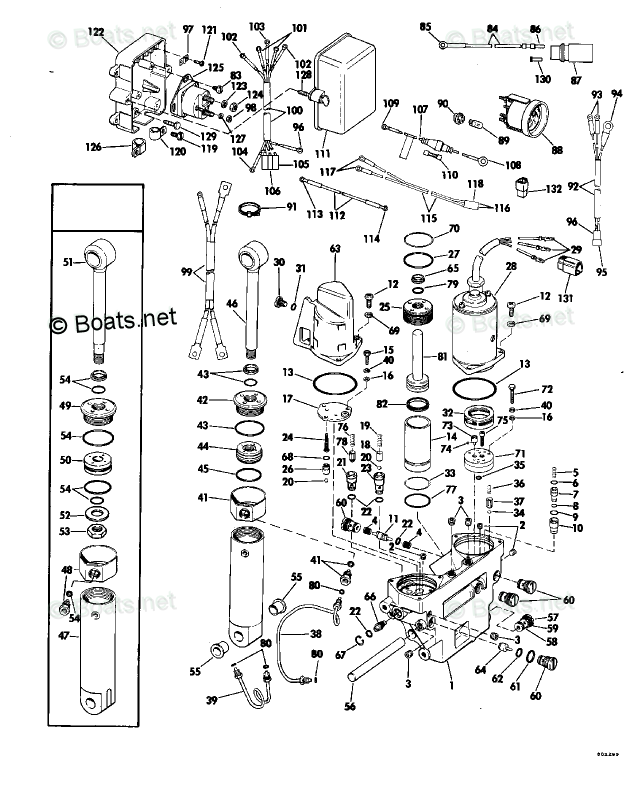 Evinrude Outboard Parts by Year 1980 OEM Parts Diagram for