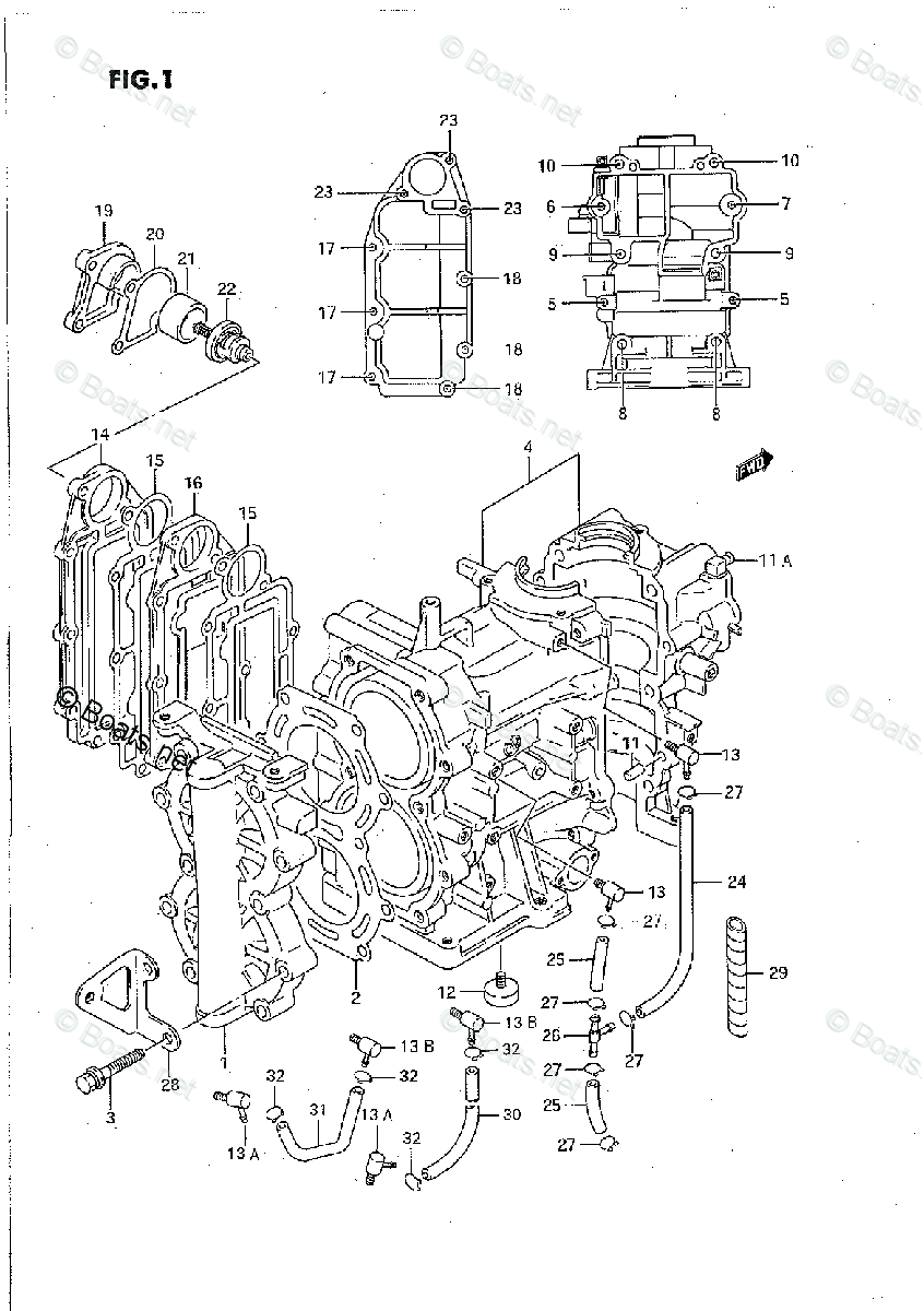 Suzuki Outboard Parts by Year 1995 OEM Parts Diagram for