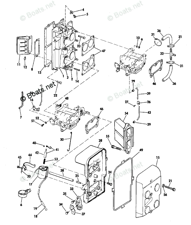 Evinrude Outboard Parts by Year 1977 OEM Parts Diagram for