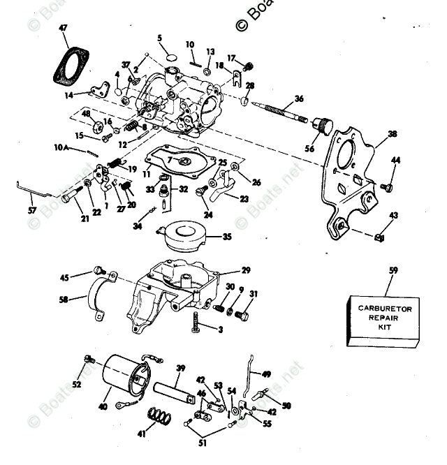 Evinrude Outboard Parts by Year 1983 OEM Parts Diagram for