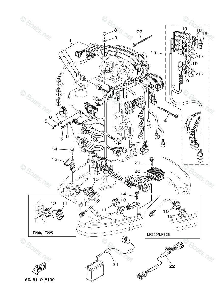 Wiring Diagram: 9 Mercury Outboard Wiring Harness Diagram