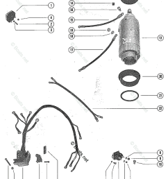 mercury mercury mariner outboard parts by hp liter 65hp oem parts diagram for starter motor starter solenoid and rectifier assembly boats net [ 957 x 1200 Pixel ]