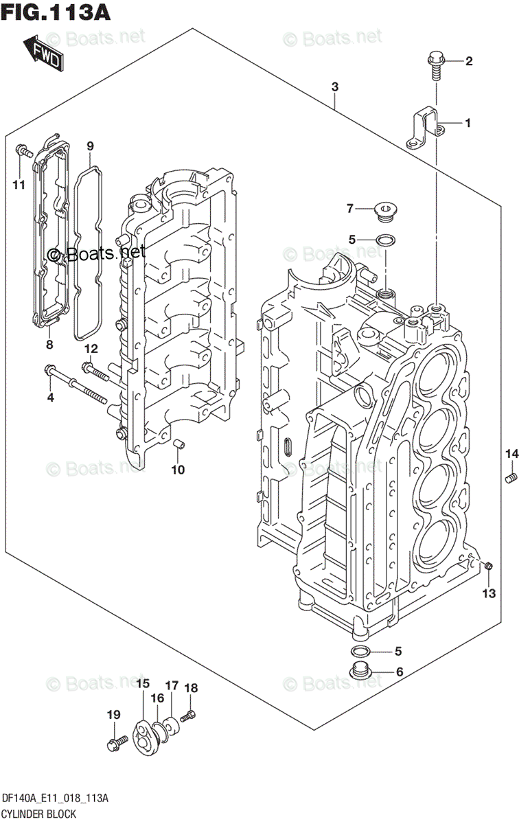 Suzuki Outboard Parts by Year 2018 OEM Parts Diagram for