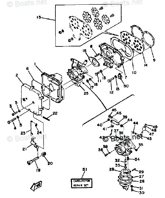 Yamaha Outboard Parts by Year 1985 OEM Parts Diagram for