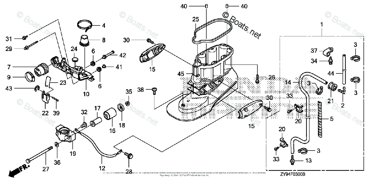 Honda Outboard Parts by Year 2007 And Later OEM Parts