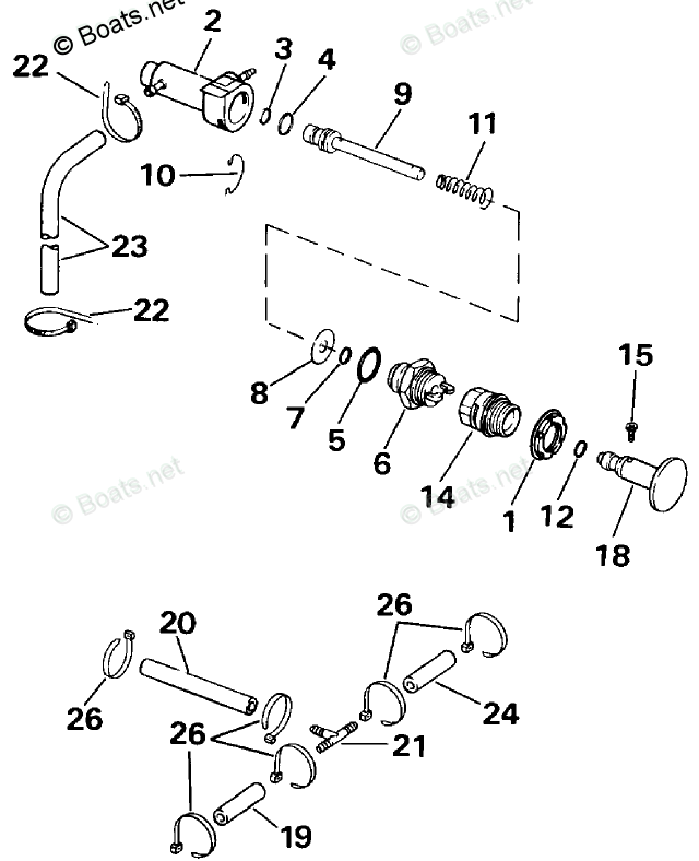 Evinrude Outboard Parts by Year 1991 OEM Parts Diagram for