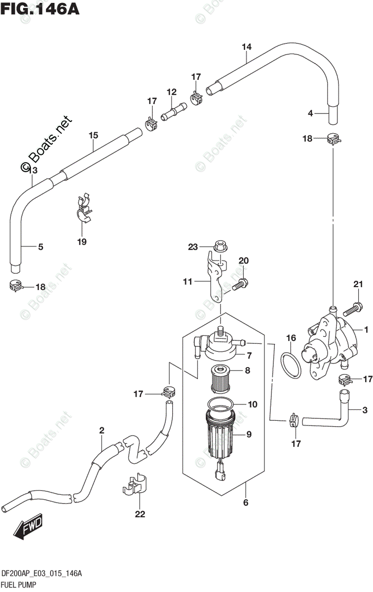 Suzuki Outboard Parts by Year 2015 OEM Parts Diagram for