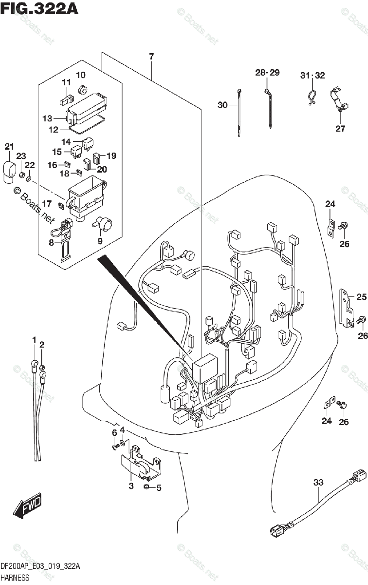 Suzuki Outboard Parts by Year 2019 OEM Parts Diagram for