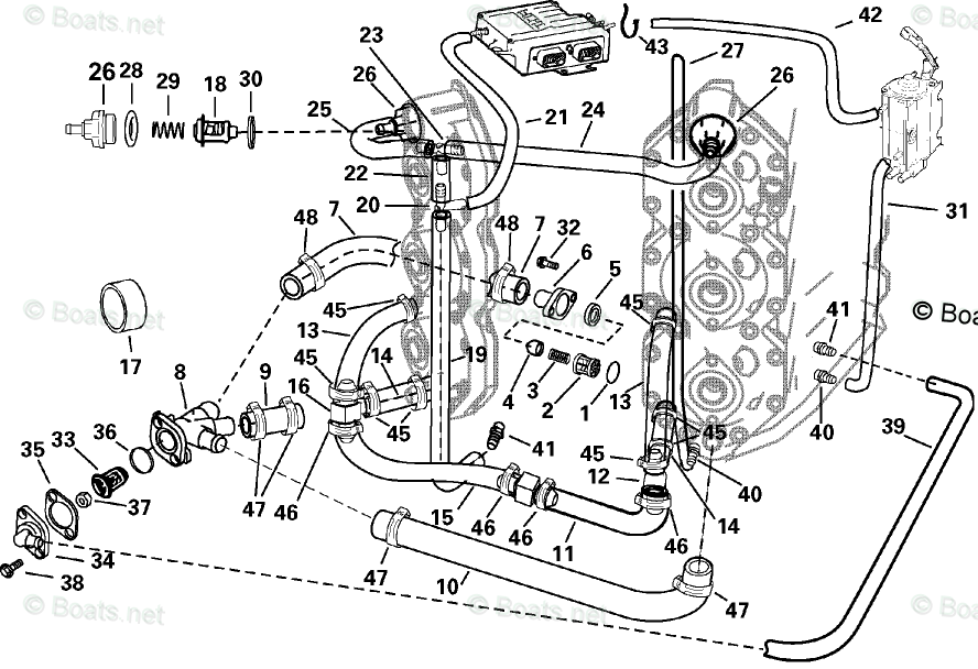 Evinrude Outboard Parts by Year 2004 OEM Parts Diagram for