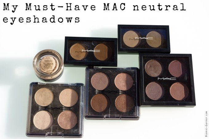my must-have mac neutral eyeshadows | bonnie garner