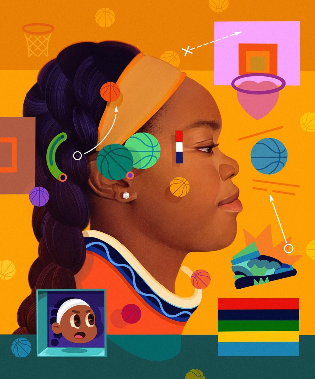 """""""Sound Waves"""" by Artist Samuel Rodriguez"""