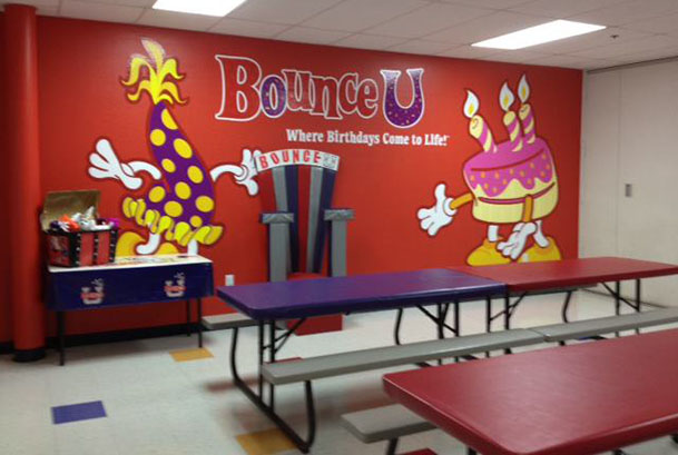 Gilbert Indoor Bounce House Attractions and Pictures  BounceU