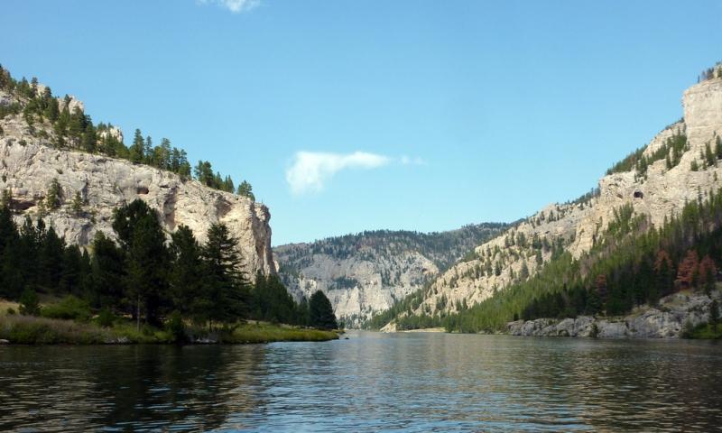 Gates Of The Mountains Boat Tours Near Helena Montana