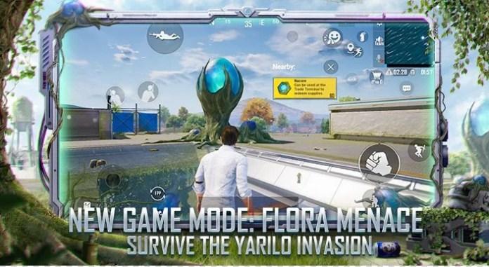 bgmi new game mode flora menace