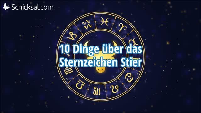 10 Dinge über Das Sternzeichen Stier
