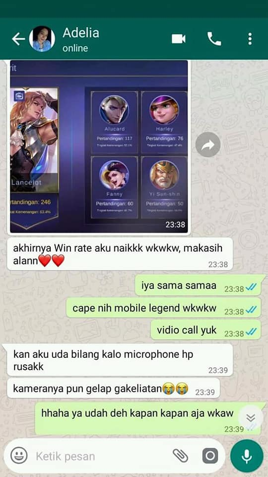 adelia alan gamer mobile legend 10 © 2018 brilio.net