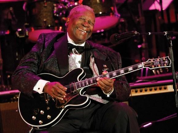 Blues legend and Mississippi native B.B. King