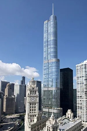 Trump International Hotel And Tower Chicago Building