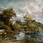 The White Horse Painting By Constable Britannica