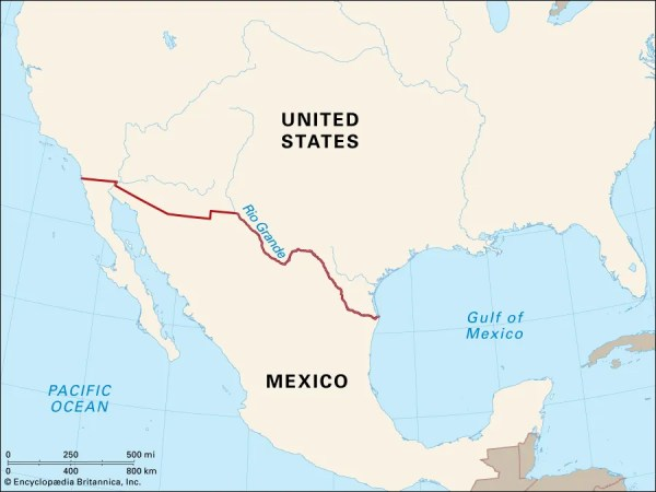 How the Border Between the United States and Mexico Was