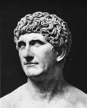 Image result for defeated roman general