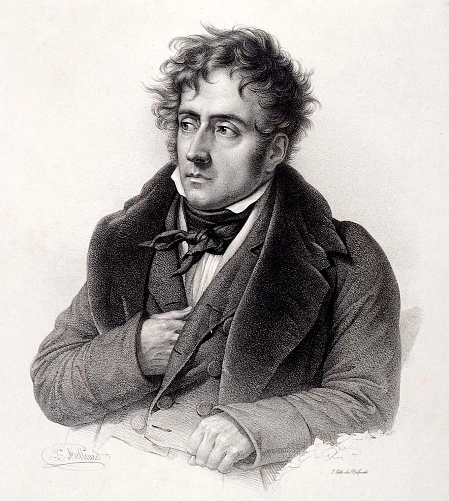 François-rené De Chateaubriand : françois-rené, chateaubriand, François-Auguste-René,, Vicomte, Chateaubriand, French