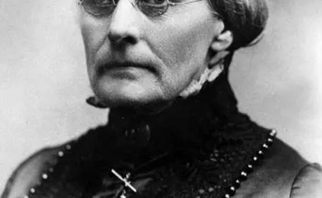 Susan B Anthony Biography Facts Britannica