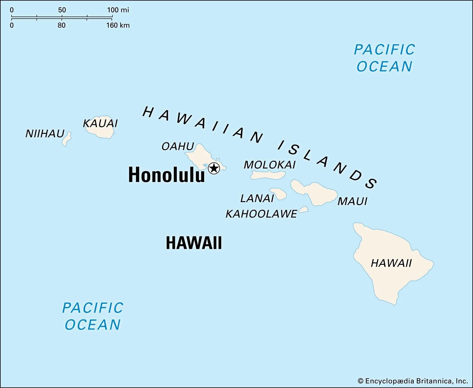 Honolulu Hawaii Facts And Information