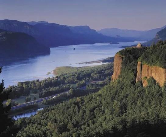 Multnomah Falls Oregon Winter Wallpaper Columbia River Location Length History Amp Facts