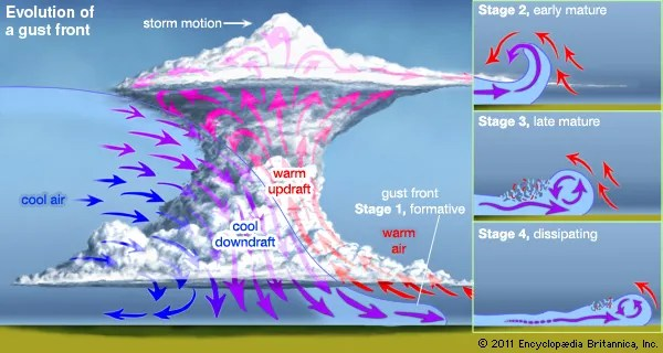 explain water cycle with diagram 2001 pontiac grand am headlight wiring windstorm | meteorology britannica.com