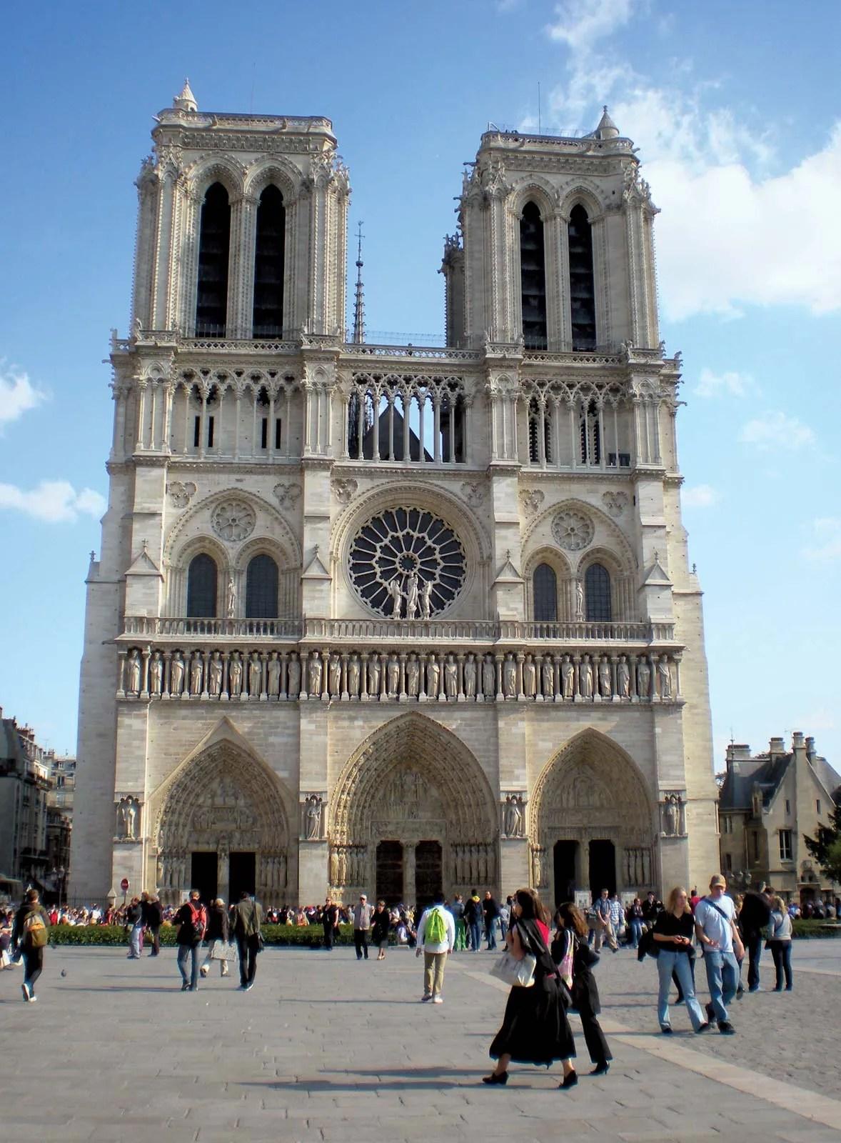 Cathédrale Notre-Dame de Paris — Wikipédia
