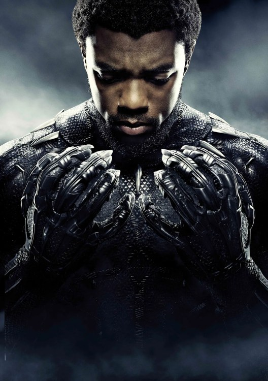 Black Panther in five top Marvel movies for women