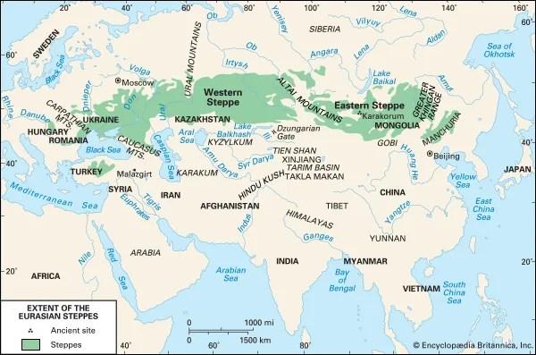 Geographical Area, Eurasia