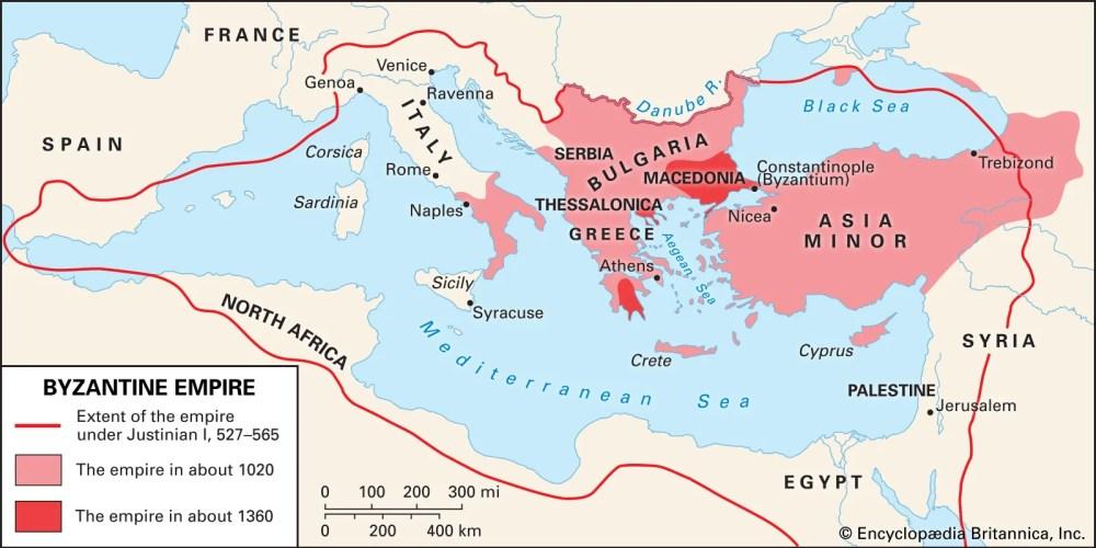 medium resolution of Byzantine Empire   History