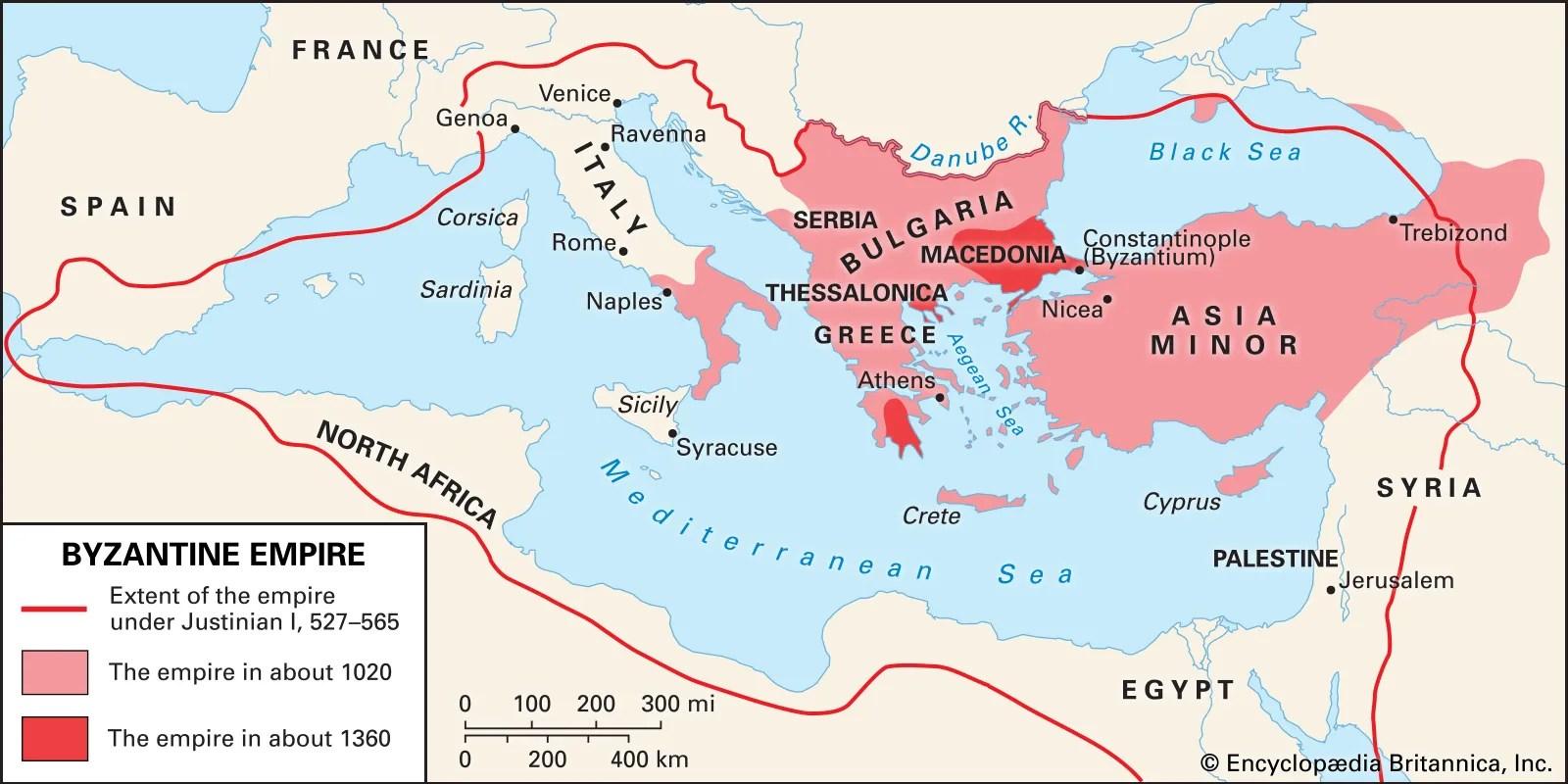 hight resolution of Byzantine Empire   History
