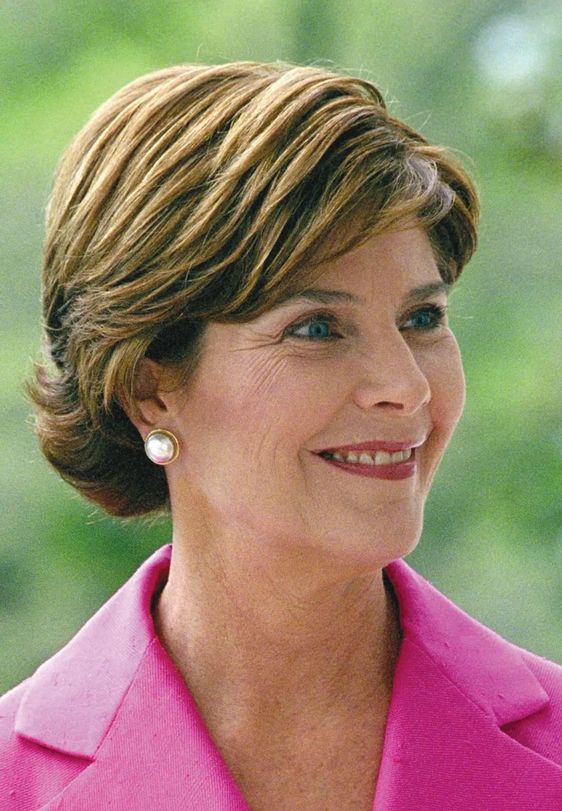 Laura Welch Bush   American first lady   Britannica