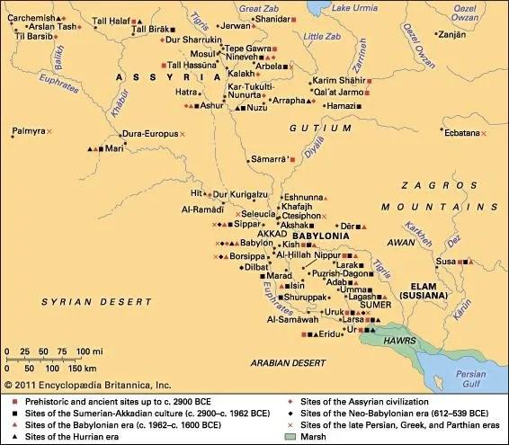 History Of Mesopotamia Summary & Facts Britannica Com