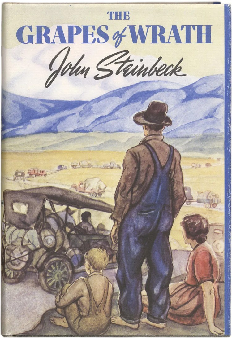 The Grapes of Wrath | Summary, Assessment, & Facts | Britannica banned books