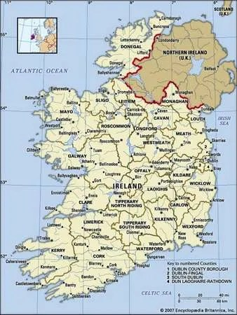 Ireland History Geography Map & Culture Britannica Com
