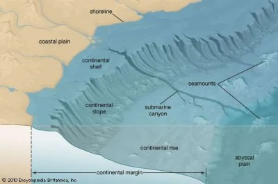Continental rise | geology | Britannica.com