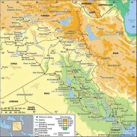 Tigris Euphrates River System River System Asia Britannica Com