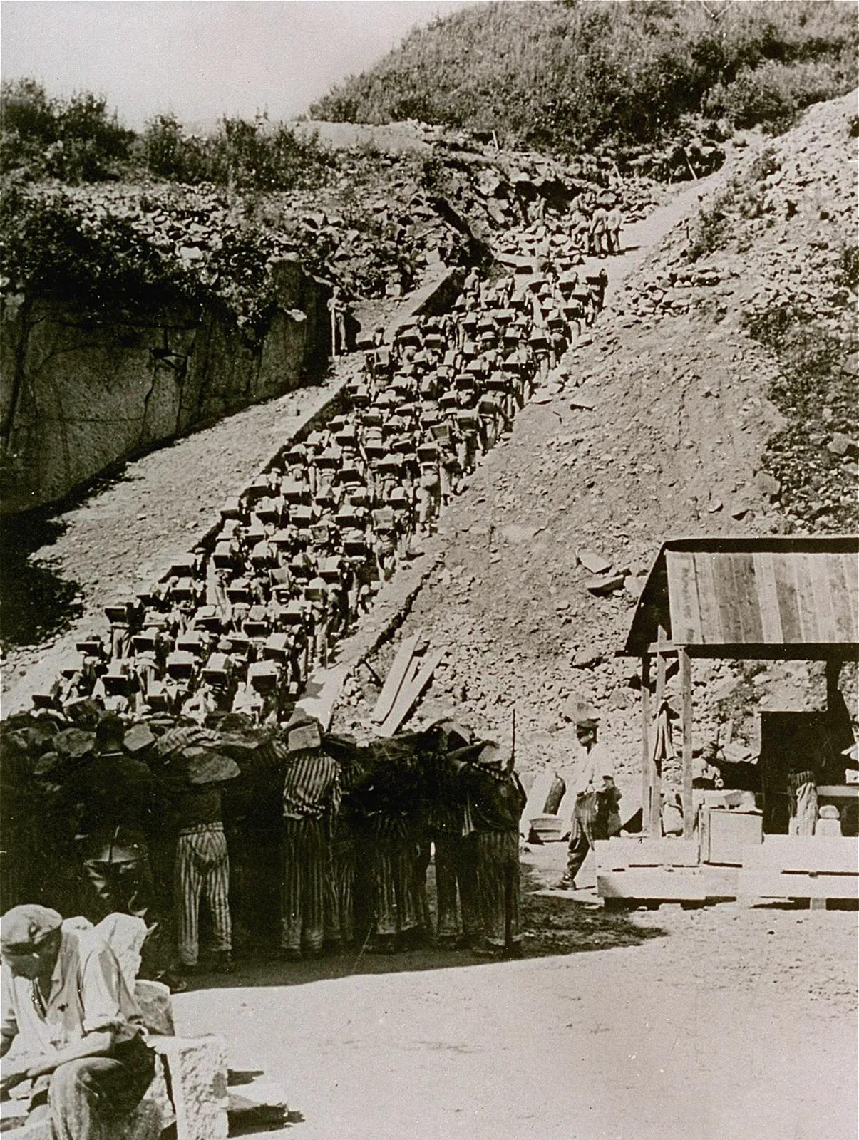 Camp De Concentration De Mauthausen : concentration, mauthausen, Mauthausen, Concentration, Camp,, Austria, Britannica